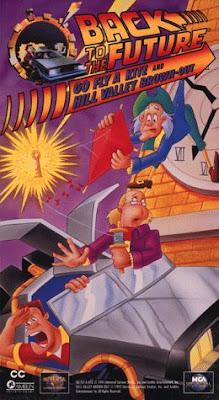 'Regreso al Futuro' en dibujos animados