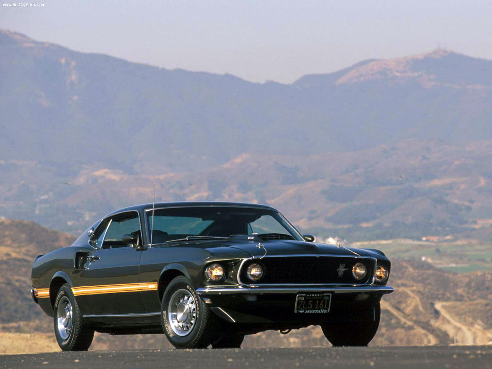 transpress nz: 1969 Ford Mustang Mach 1