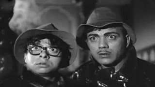 R D Burman with mehmood in film 'Bhoot Bangla'