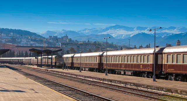 Al Andalús Zug in Granada