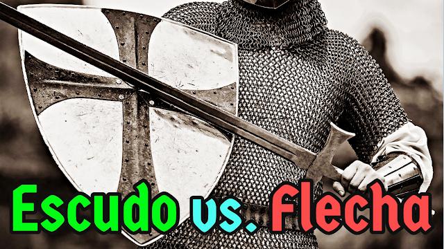 Escudos eram capazes de parar flechas?
