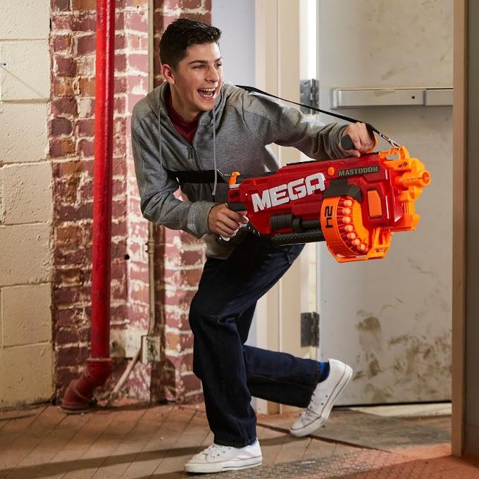Súng Nerf Mega - Sự mạnh mẽ của dòng súng hạng nặng