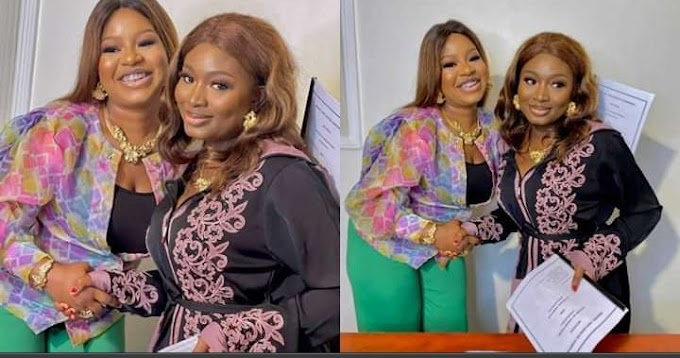 Birthday Blessings For Yoruba Actress Adebimpe Oyebade As She Signs An Endorsement Deal Ahead Of Her Birthday.