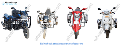 Side wheel attachment manufacturers