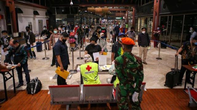KKP Bandara Soetta Benarkan Ada 131 Penumpang Positif COVID-19