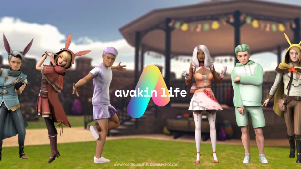 Avakin Life Mundo virtual 3D 1.050.05 Mod MENU atualizado