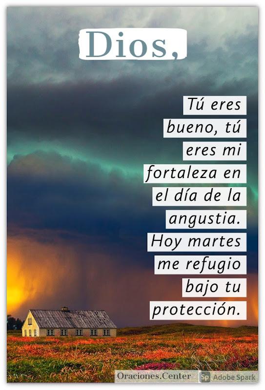 Oración para el Día Martes para tener Fortaleza en vez de Temor