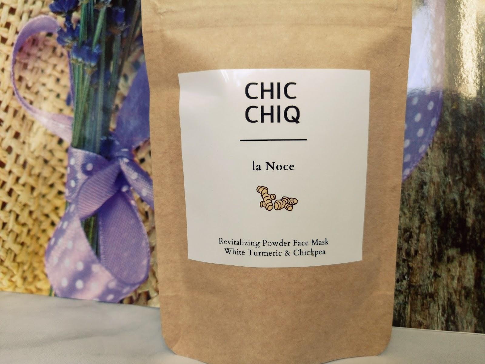Chic Chiq La Noce - maska do twarzy w proszku