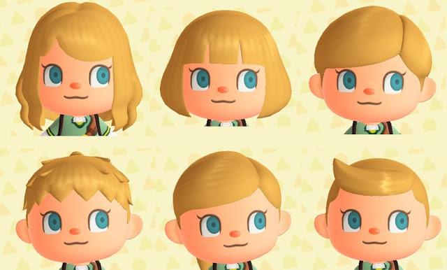 Atrevido y bonito peinados animal crossing new leaf chica Colección De Consejos De Color De Pelo - Animal Crossing: New Horizons: todos los peinados y ...