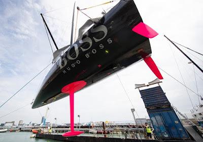 Hugo Boss est à l'eau, focus sur le nouvel IMOCA d'Alex Thomson