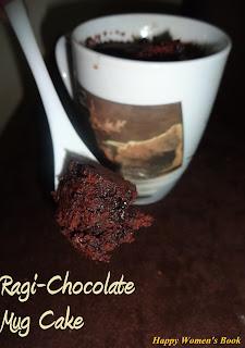 Ragi-Chocolate Mug Cake