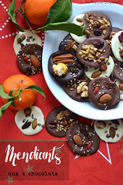 Recette Mendiants - muffinzlover.blogspot.fr