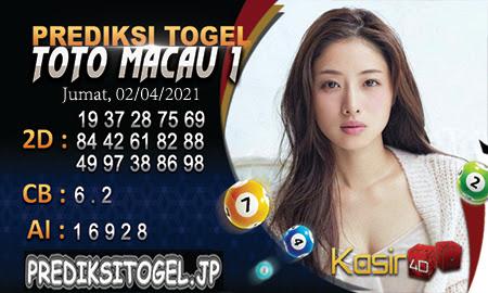 Prediksi Kasir4D Togel Macau Jumat 02 April 2021