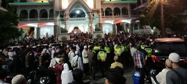 Kasihan, Aksi Pawai Bela Kalimat Tauhid di Kota Malang, Kumpul Sejak Dini Hari, Belum Sempat Pawai Memutuskan Bubar Barisan