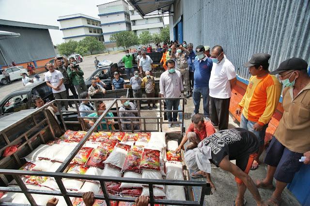 Pemko Medan Salurkan 980 Ton Beras, Akhyar :  Utamakan Untuk Warga Total Loss Income