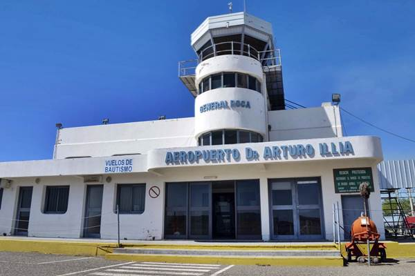 Aeropuerto de Roca: continúan las obras