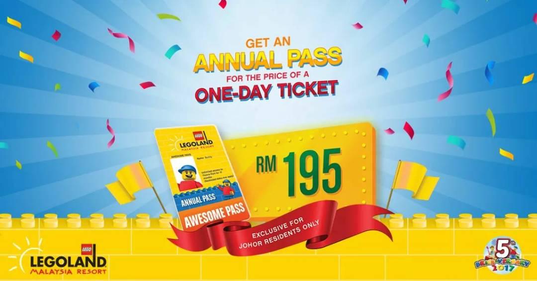 Legoland Malaysia Annual Pass Ticket Promotion - Mia Liana
