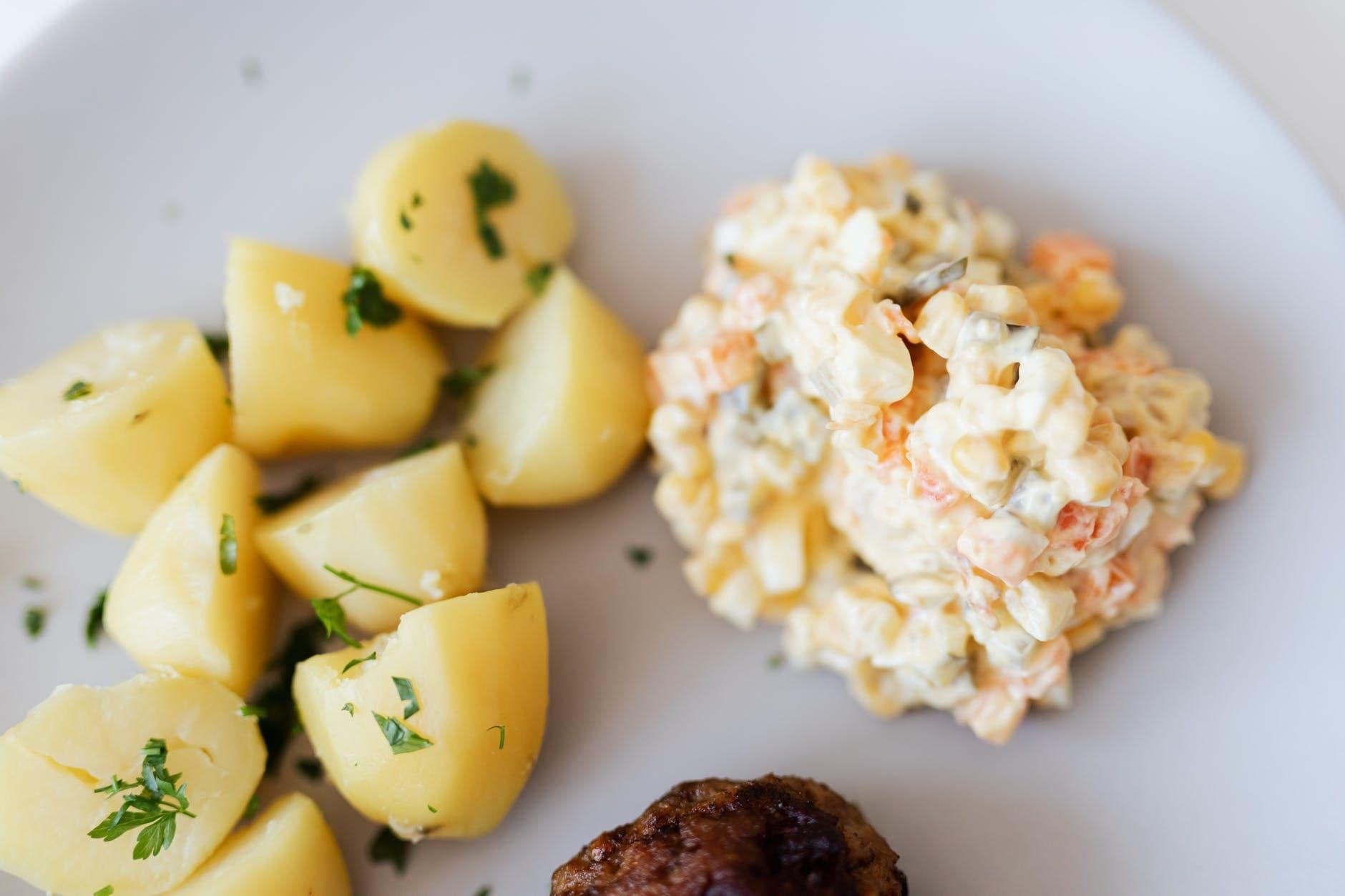 How to make sweet potato salad for men