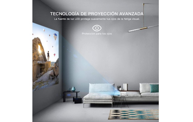Proyector HD 1080P HDMI