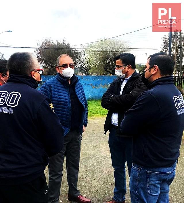 Proponen reubicar 6ta Compañía de Bomberos en Francke