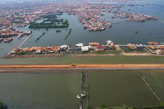 Gambaran proyek tol tanggul Semarang - Demak