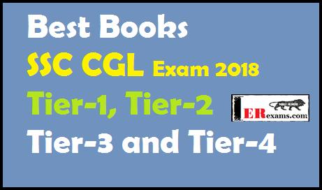 Best Books SSC CGL Exam 2018 Tier-1, Tier-2, Tier-3 and Tier-4