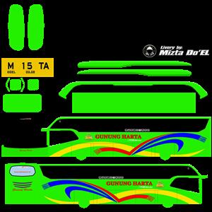 livery gunung harta hijau mod avante hdd by wsp mods