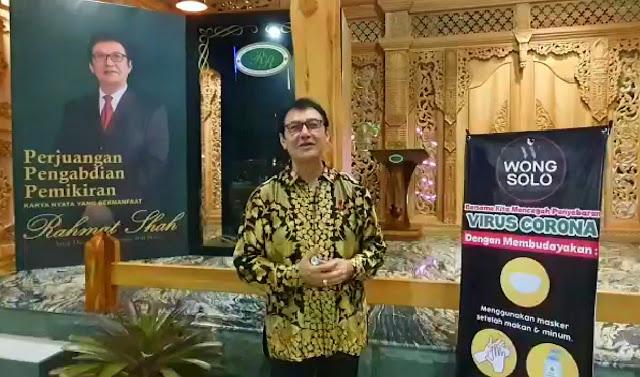 Berisi Rangkaian Perjalanan Hidupnya, Rahmat Shah Launching Buku Baru di Taman Joglo Wong Solo