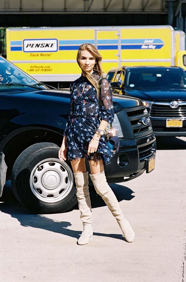 Vanessa Jackman New York Fashion Week Ss 2016 Maria