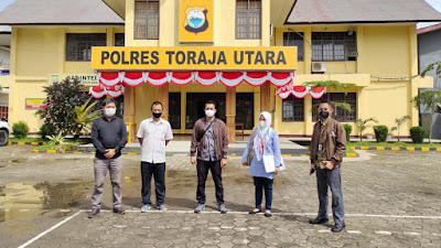Ombudsman Nilai Pelayanan Publik Polres Toraja Utara