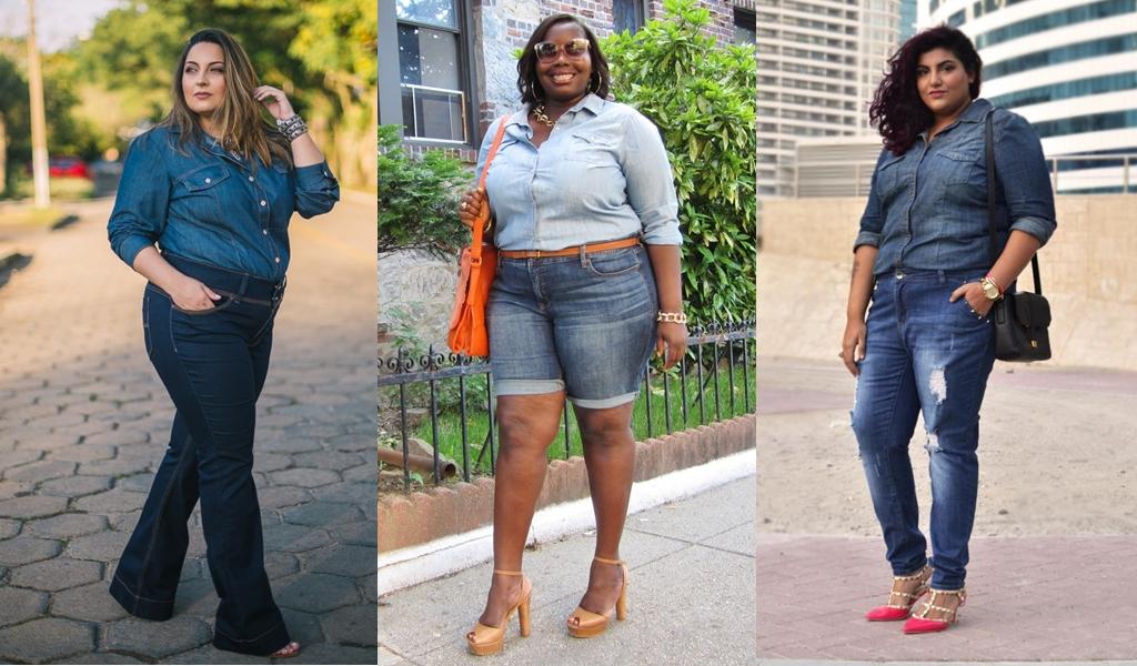Jeans para Gordas de todos os Tamanhos - Inspiração Plus Size - Doce ... 8a69a75151023