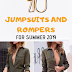 TOP 10 JUMPSUITS AND ROMPERS FOR SUMMER 2019!!!