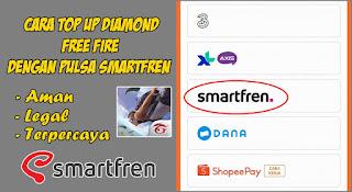Cara Top Up Diamond Free Fire Dengan Pulsa Smartfren Di Codashop