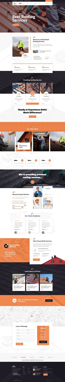 Renovation PSD Template