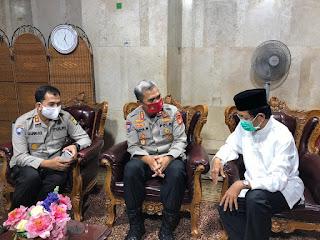 Dirbinmas Polda Metro Jaya Silaturahmi Ke Imam Besar Masjid Istiqlal