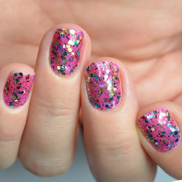 glitter nail polish strips