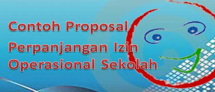 Proposal Perpanjang Izin Operasonal Sekolah