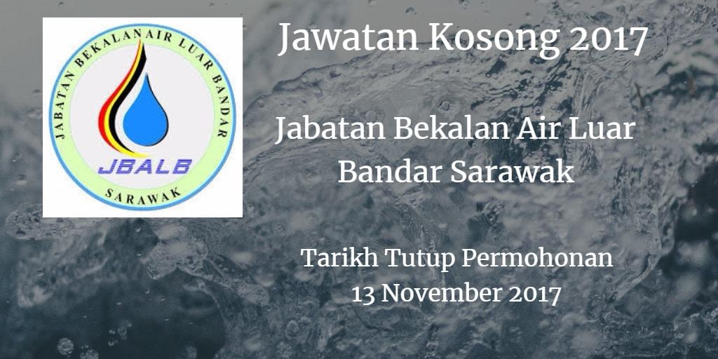 Jawatan Kosong Jabatan Bekalan Air Luar Bandar Sarawak 13 November 2017