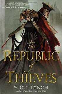 Purrfectly Bookish: The Republic of Thieves by Scott Lynch