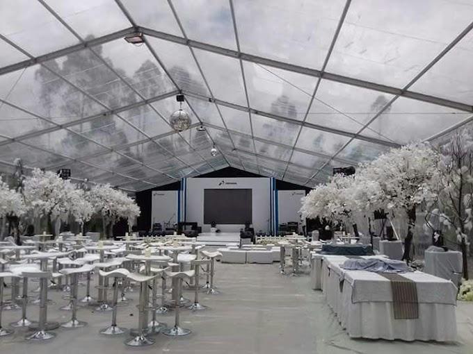 JUAL DAN SEWA TENDA TRANSPARAN UNTUK WEDDING   081112300319