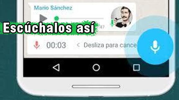 WhatsApp - Cómo escuchar una nota de voz antes de enviar