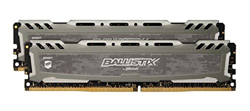 BLS8G4D26BFSE PC4-21300 DDR4 2666MHz 1 x 8GB Crucial Ballistix Sport RAM