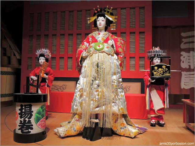 Exhibición Kabuki del Museo Edo-Tokyo