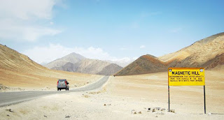 Places to visit in Jammu and kashmir ( magnetic hill   )