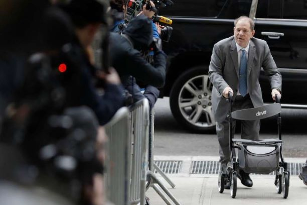 Harvey Weinstein Is Behind Bars