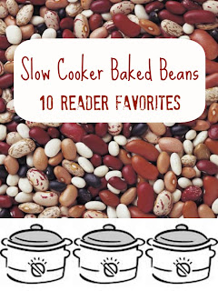 You can NEVER have enough baked bean recipes! These are the most requested baked beans, in order, from A Year of Slow Cooking