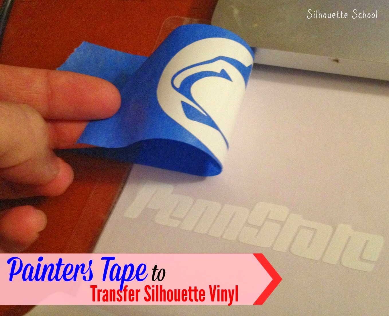 Painters tape, Painter's tape, Silhouette, crafting, transfer tape