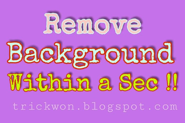 Remove Background Online for Free Within a Second