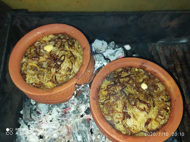 Matka Chicken Biryani