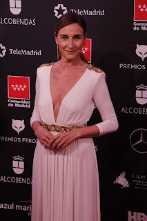 Mona Martínez en los Premios Feroz 2020
